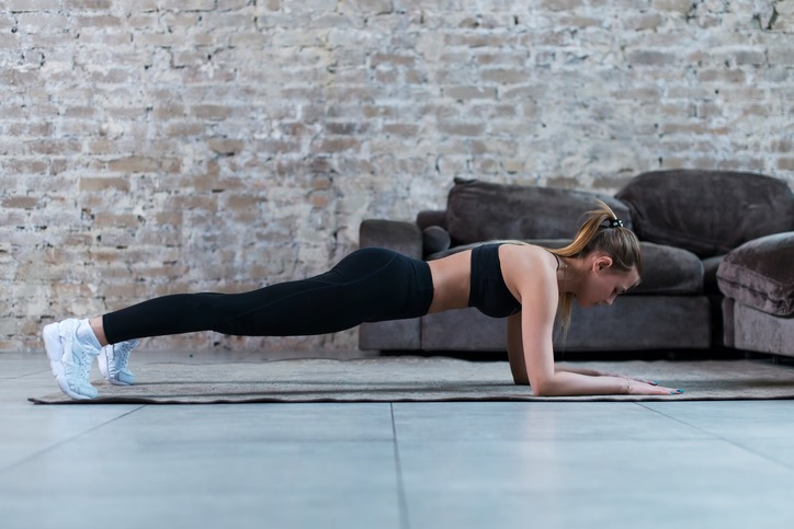 Front Plank Exercise | Avoid Low Back Pain