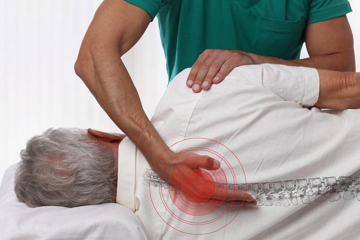 Chiropractor Adjusting Car Accident Victim
